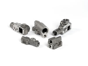 Precision Machined Hydraulic Manifold Valve Blocks